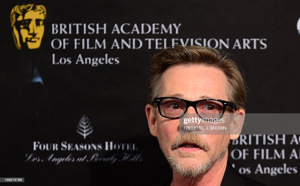Dennis Christopher poses on arrival for the British Academy of Film and Television Arts (BAFTA) Los Angeles Awards Season Tea Party on January 12, 2013 in Beverly Hills, California. AFP PHOTO / Frederic J. BROWN
