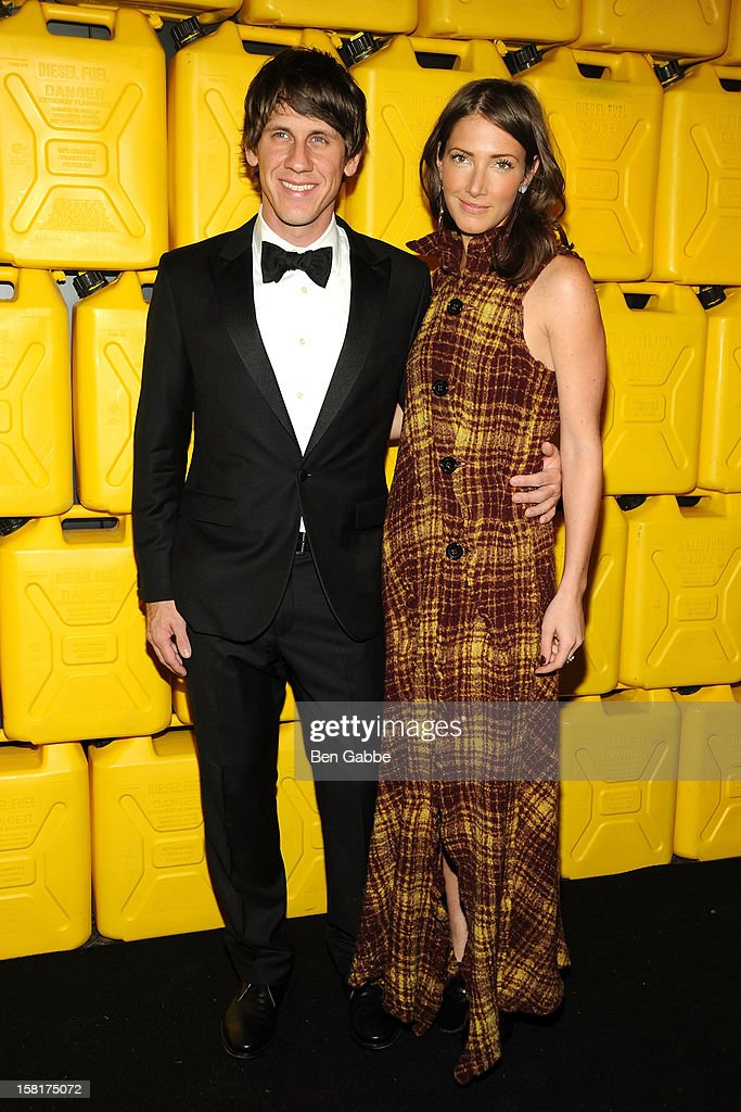 <a gi-track='captionPersonalityLinkClicked' href=/galleries/search?phrase=Dennis+Crowley&family=editorial&specificpeople=6729326 ng-click='$event.stopPropagation()'>Dennis Crowley</a> and Chelsa Skees attend 7th Annual Charity Ball Benefiting Charity:Water at the 69th Regiment Armory on December 10, 2012 in New York City.