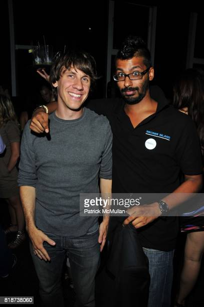 Dennis Crowley and Deepen Shah attend TOPGUESTCOM Launch Party at Black Room on June 10 2010