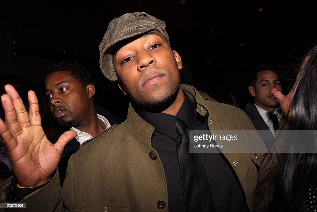 Dennis Da Menace attends the Notorious DVD release party hosted by VIBE magazine and Fox Home Entertainment at the Pink Elephant on April 15 2009 in...