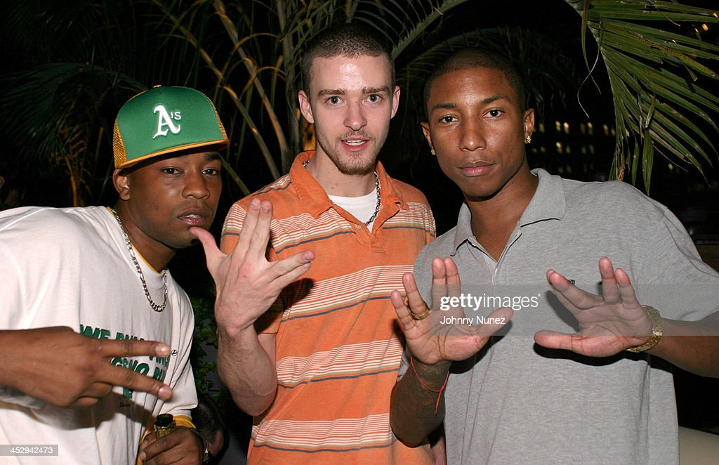Dennis Da Menace of Fuse TV Justin Timberlake and Pharrell Williams