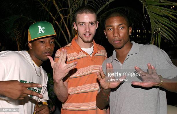 Dennis Da Menace of Fuse TV Justin Timberlake and Pharrell Williams