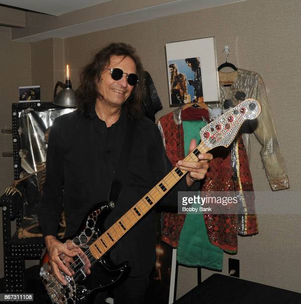 Dennis Dunaway of the Alice Cooper Band attends Chiller Theater Expo Winter 2017 at Parsippany Hilton on October 27 2017 in Parsippany New Jersey