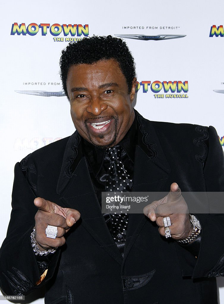 Dennis Edwards attends 'Motown: The Musical' Motown Family Night at Lunt-Fontanne Theatre on April 5, 2013 in New York City.