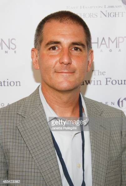 Dennis Fabszick attends East Hampton Library's Authors Night 2014 on August 9 2014 in East Hampton New York