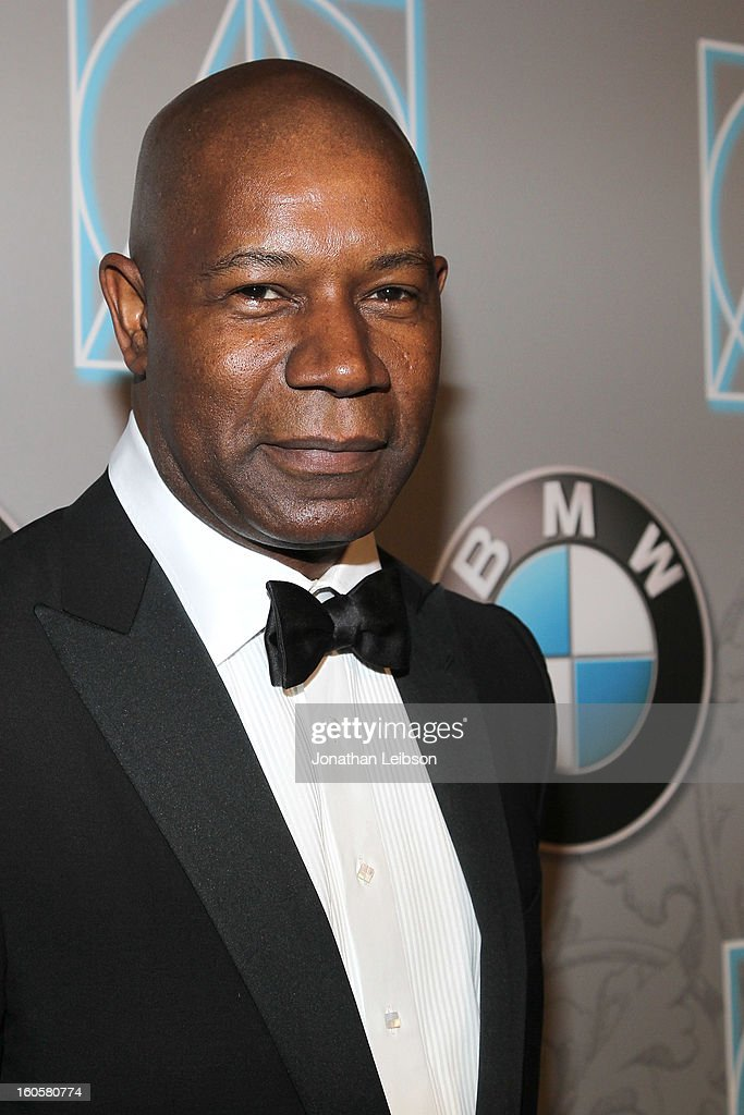 <a gi-track='captionPersonalityLinkClicked' href=/galleries/search?phrase=Dennis+Haysbert&family=editorial&specificpeople=212993 ng-click='$event.stopPropagation()'>Dennis Haysbert</a> arrives to the 17th Annual Art Directors Guild Awards For Excellence In Production Design presented by BMW at The Beverly Hilton Hotel on February 2, 2013 in Beverly Hills, California.