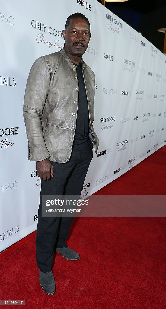 <a gi-track='captionPersonalityLinkClicked' href=/galleries/search?phrase=Dennis+Haysbert&family=editorial&specificpeople=212993 ng-click='$event.stopPropagation()'>Dennis Haysbert</a> at RADiUS-TWC 'he Details' Premiere hosted by GREY GOOSE Vodka held at The ArcLight Cinemas on October 29, 2012 in Hollywood, California.