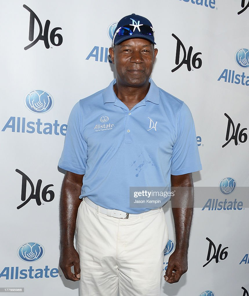 <a gi-track='captionPersonalityLinkClicked' href=/galleries/search?phrase=Dennis+Haysbert&family=editorial&specificpeople=212993 ng-click='$event.stopPropagation()'>Dennis Haysbert</a> attends the 2nd Annual <a gi-track='captionPersonalityLinkClicked' href=/galleries/search?phrase=Dennis+Haysbert&family=editorial&specificpeople=212993 ng-click='$event.stopPropagation()'>Dennis Haysbert</a> Humanitarian Foundation Celebrity Golf Classic at Lakeside Golf Club on August 26, 2013 in Burbank, California.