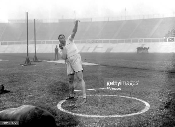 Dennis Horgan Great Britain silver medallist