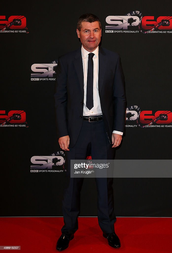 Dennis Irwin attends the BBC Sports Personality of the Year Awards at First Direct Arena on December 15, 2013 in Leeds, England.