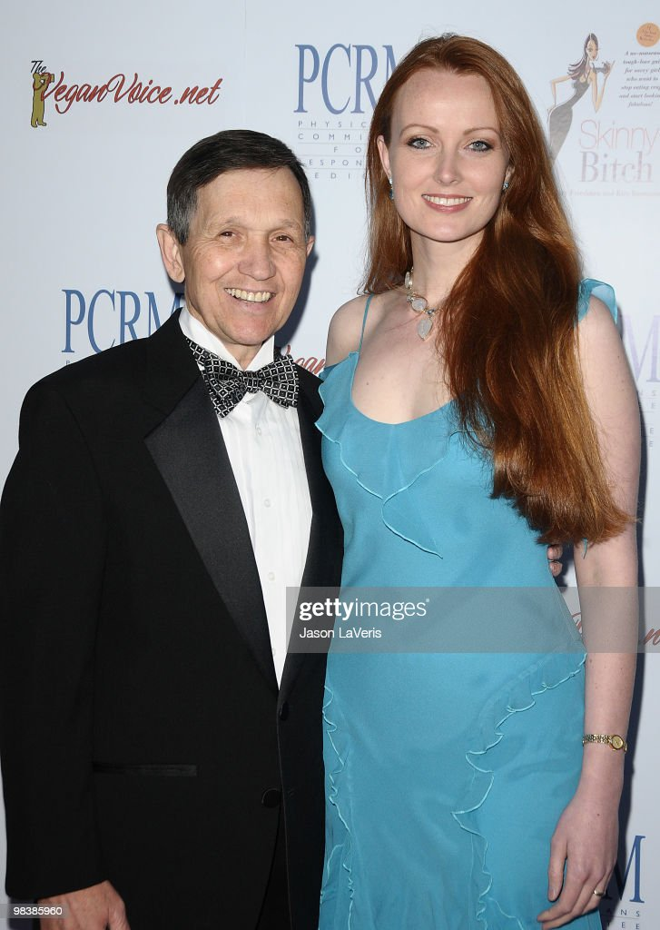Dennis Kucinich and Elizabeth Kucinich attend the Art Of Compassion PCRM 25th anniversary gala at The Lot on April 10 2010 in West Hollywood...