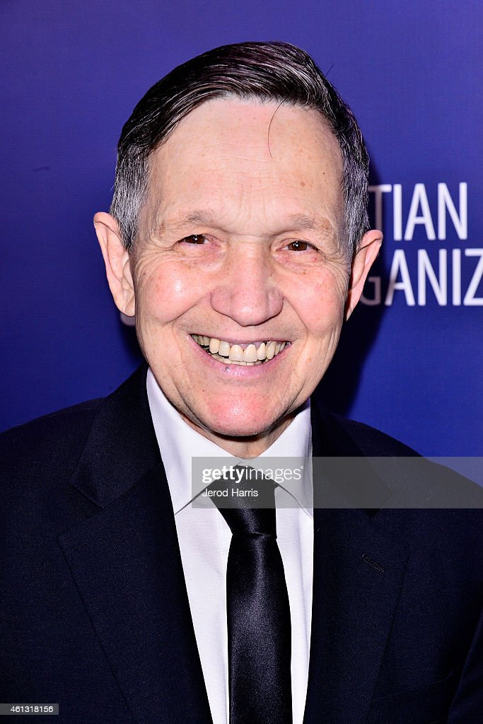 Dennis Kucinich arrives at the 4th Annual Sean Penn Friends 'Help Haiti Home' Gala Benefit at the Montage Hotel on January 10 2015 in Los Angeles...