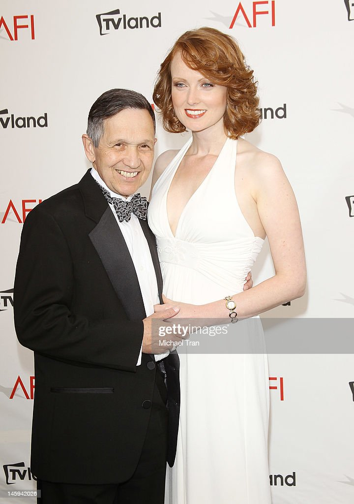 <a gi-track='captionPersonalityLinkClicked' href=/galleries/search?phrase=Dennis+Kucinich&family=editorial&specificpeople=204221 ng-click='$event.stopPropagation()'>Dennis Kucinich</a> arrives at TV Land Presents: AFI Life Achievement Award honoring Shirley MacLaine held at Sony Studios on June 7, 2012 in Los Angeles, California.