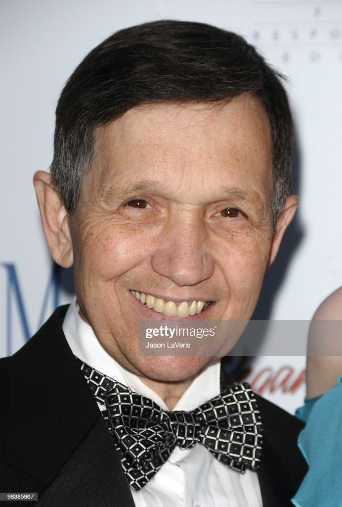 Dennis Kucinich attends the Art Of Compassion PCRM 25th anniversary gala at The Lot on April 10 2010 in West Hollywood California