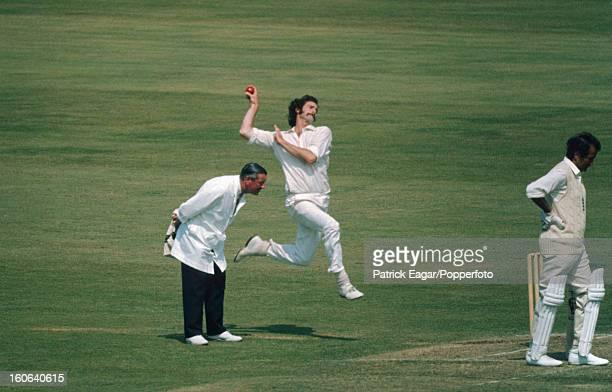 Dennis Lillee and Basil D'Oliveira 3rd Test England v Australia Trent Bridge July 1972