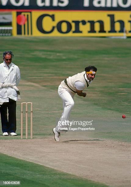 Dennis Lillee bowling 3rd Test England v Australia Headingley July 1981