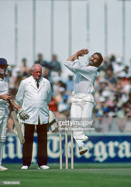 Dennis Lillee bowling England v Australia at The Oval 1980