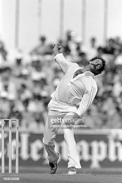 Dennis Lillee bowling ODI England v Australia at The Oval 1980