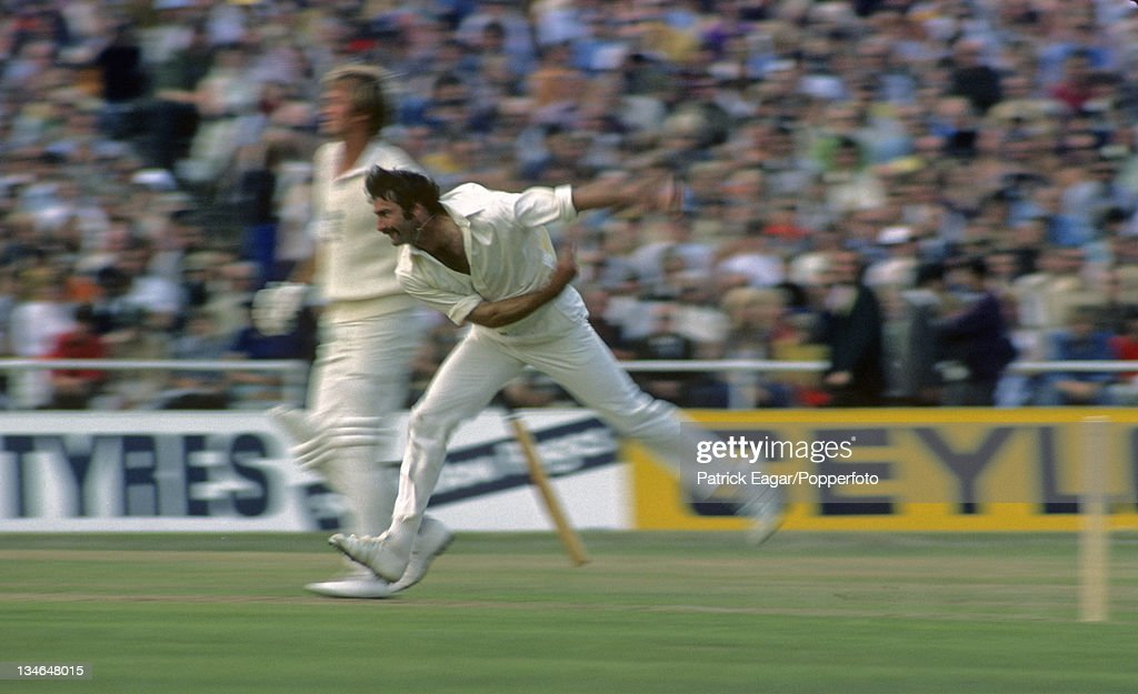 Dennis Lillee England v Australia 2nd Test Lord's July 1975