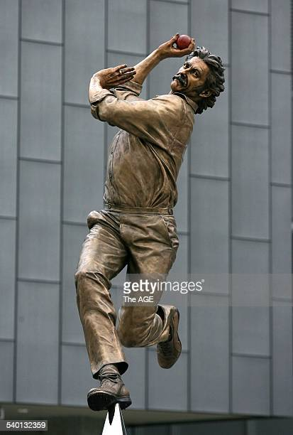 Dennis Lillee one of Australian cricket's greatest fast bowlers joined a distinguished group of sporting champions when he unveiled his statue at the...