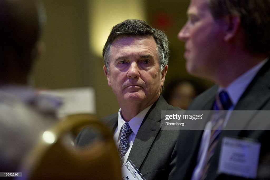 Dennis Lockhart, president and chief executive officer of the Federal Reserve Bank of Atlanta, listens during a community development research conference sponsored by the Federal Reserve in Washington, D.C., U.S., on Friday, April 12, 2013. Federal Reserve Chairman Ben S. Bernanke said aiding low-income neighborhoods requires a 'multipronged' approach focusing on education, jobs and health care as well as housing. Photographer: Andrew Harrer/Bloomberg via Getty Images