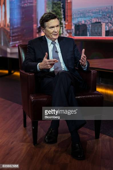 Dennis Lockhart president of the Federal Reserve Bank of Atlanta speaks during a Bloomberg Television interview in New York US on Thursday Feb 16...