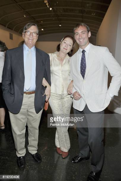 Dennis Longwell Britta Le Va and Oliver Longwell attend PARRISH ART MUSEUM Midsummer Party Honoring BETH RUDIN DEWOODY and ROSS BLECKNER at Parrish...