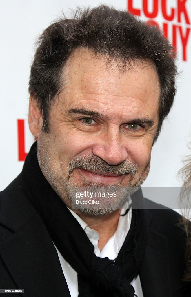 Dennis Miller attends the opening night of Broadway's 'Lucky Guy' at The Broadhurst Theatre on April 1, 2013 in New York City.