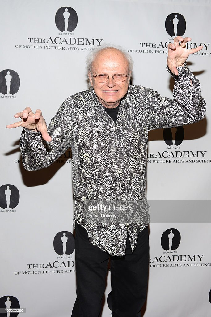 <a gi-track='captionPersonalityLinkClicked' href=/galleries/search?phrase=Dennis+Muren&family=editorial&specificpeople=816466 ng-click='$event.stopPropagation()'>Dennis Muren</a> attends The Academy Spotlights VFX Game-Changers: 'Jurassic Park 3D' at AMPAS Samuel Goldwyn Theater on April 2, 2013 in Beverly Hills, California.