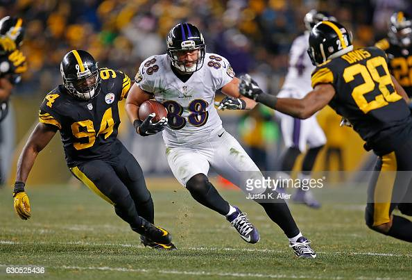 Baltimore Ravens v Pittsburgh Steelers : News Photo