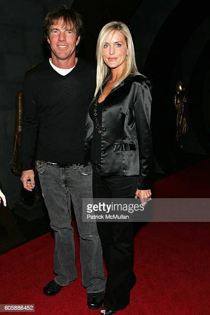 Dennis Quaid and Kimberly Quaid attend Conde Nast Traveler Hot List Party at Buddha Bar on April 18 2006 in New York City