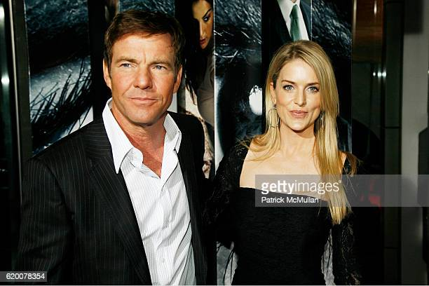 Dennis Quaid and Kimberly Quaid attend 'VANTAGE POINT' World Premeire at AMC Lincoln Center on February 20 2008 in New York City