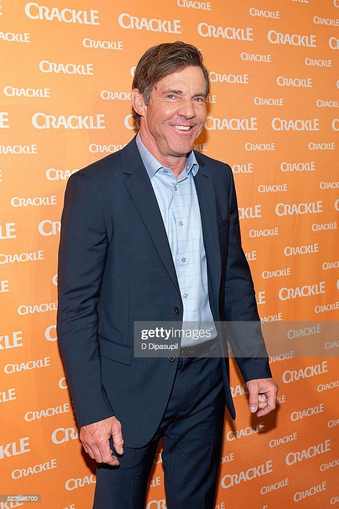 Dennis Quaid attends Crackle's 2016 Upfront Presentation at New York City Center on April 20 2016 in New York City