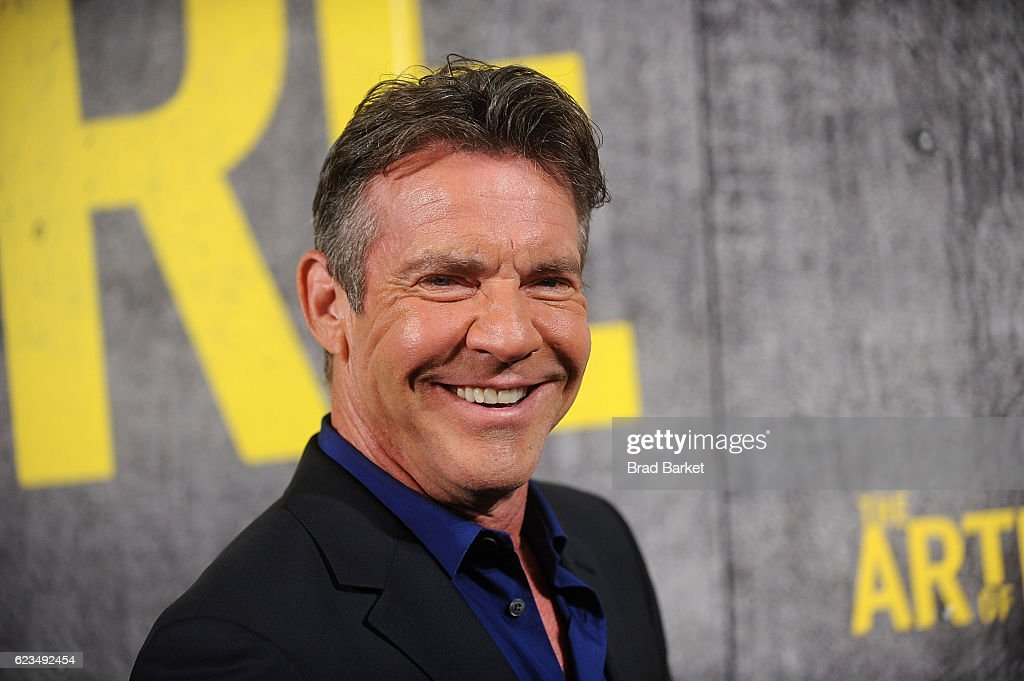 Dennis Quaid attends the 'The Art Of More' Season 2 Premiere at Museum Of Arts And Design on November 15, 2016 in New York City.