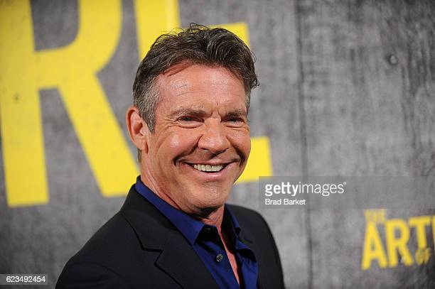 Dennis Quaid attends the 'The Art Of More' Season 2 Premiere at Museum Of Arts And Design on November 15 2016 in New York City