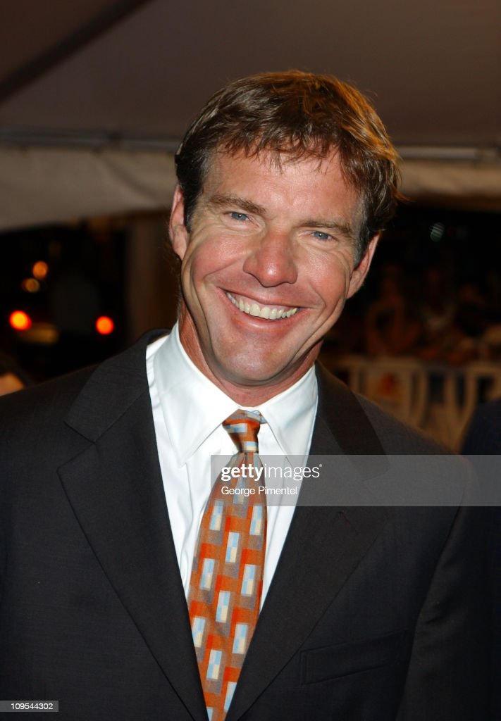 <a gi-track='captionPersonalityLinkClicked' href=/galleries/search?phrase=Dennis+Quaid&family=editorial&specificpeople=201916 ng-click='$event.stopPropagation()'>Dennis Quaid</a> during 2002 Toronto Film Festival - 'Far From Heaven' Premiere at Roy Thompson Hall in Toronto, Ontario, Canada.