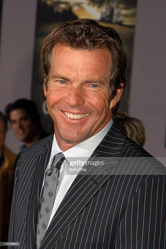 <a gi-track='captionPersonalityLinkClicked' href=/galleries/search?phrase=Dennis+Quaid&family=editorial&specificpeople=201916 ng-click='$event.stopPropagation()'>Dennis Quaid</a> during 'Cold Creek Manor' Premiere at El Capitan Theatre in Hollywood, California, United States.