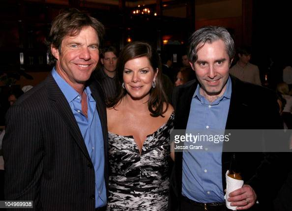 Dennis Quaid Marcia Gay Harden and Paul Weitz Writer Director