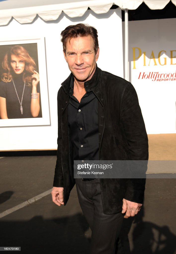 Dennis Quaid poses in the Piaget Lounge during The 2013 Film Independent Spirit Awards on February 23, 2013 in Santa Monica, California.