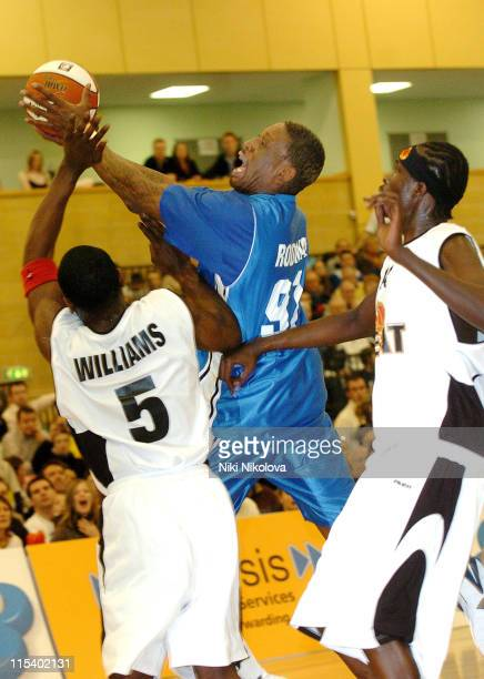Dennis Rodman during Genesis Brighton Bears vs Guildford Heat with Dennis Rodman January 28 2006 at The Triangle Burgess Hill in Brighton Great...