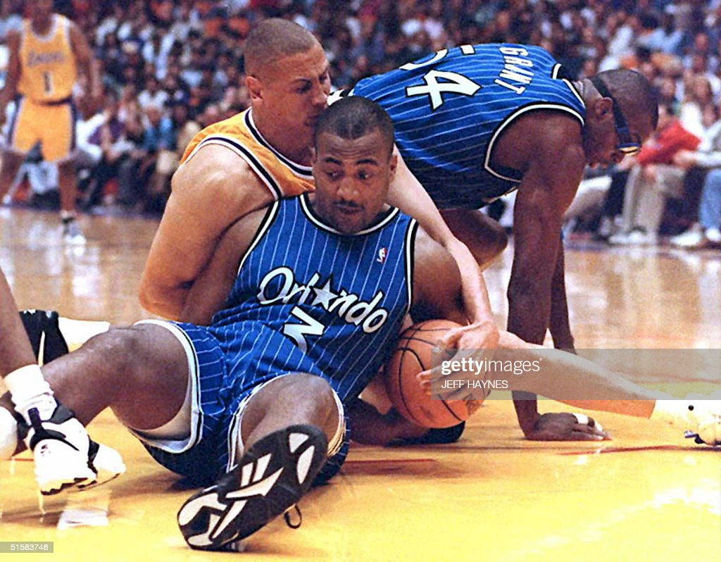 Dennis Scott C and Horace Grant R of the Orlan