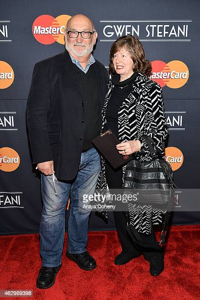 Dennis Stefani and Patti Stefani attend the MasterCard Priceless Surprises presents Gwen Stefani at Orpheum Theatre on February 7 2015 in Los Angeles...