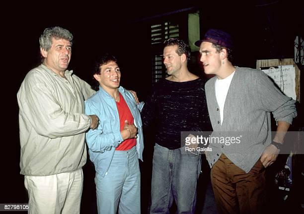 Dennis Stein Ray Mancini Mickey Rourke and Matt Dillon