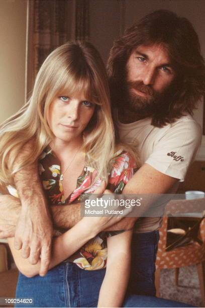 Dennis Wilson and Karen Lamm portrait New York 6th September 1977