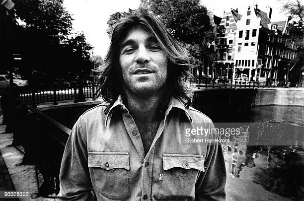 Dennis Wilson from The Beach Boys posed in Amsterdam Netherlands on January 01 1971