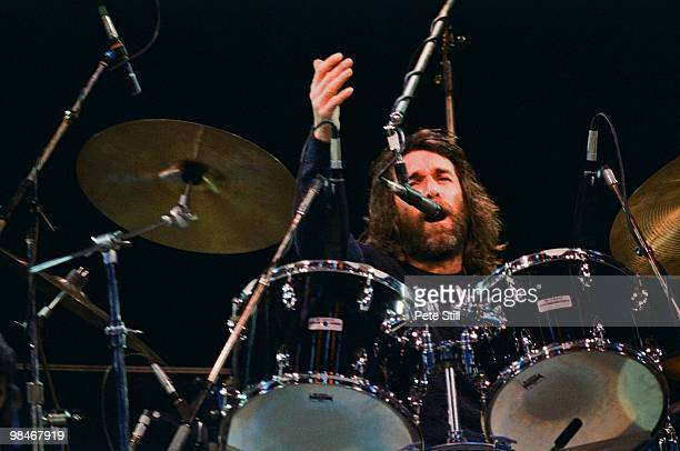 Dennis Wilson of The Beach Boys performs on stage at Knebworth on June 21st 1980 in London England This was the last major UK performance of all 6...