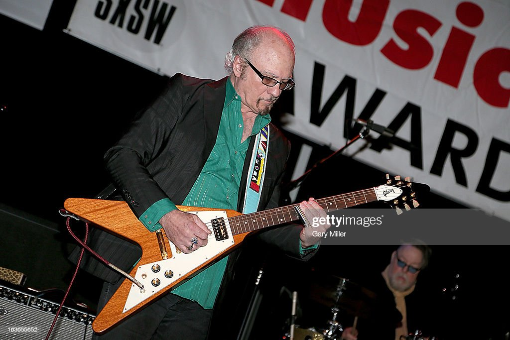 Denny Freeman performs in concert for the Austin Music Awards at the Austin Music Hall during the South By Southwest Music Festival on March 13, 2013 in Austin, Texas.