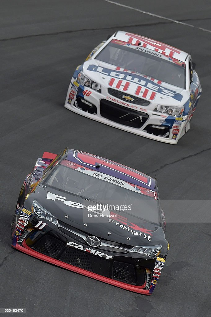 Sprint Cup Series Coca Cola 600 Getty Images