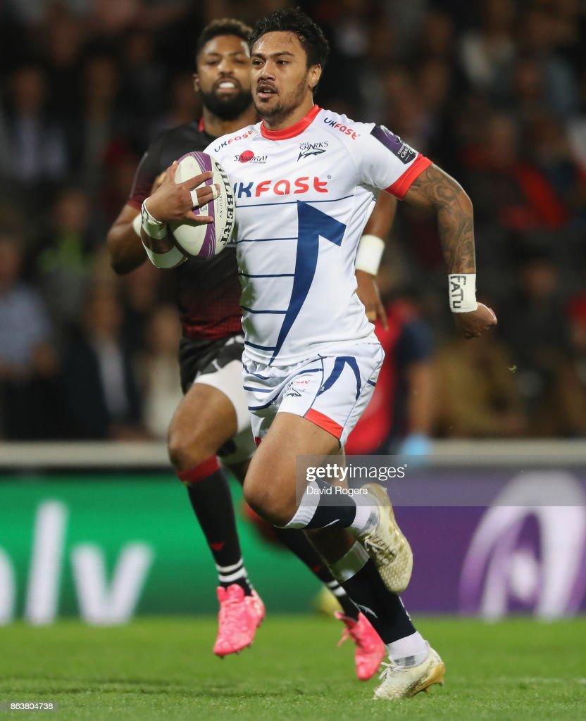 Lyon v Sale Sharks - European Rugby Challenge Cup
