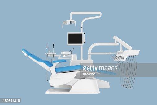 歯科の椅子-クリッピングパス